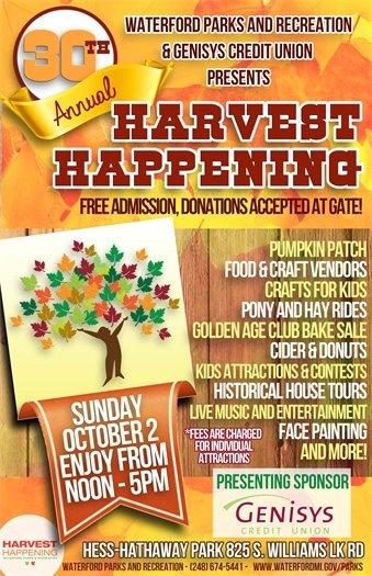 Harvest Happening Flyer