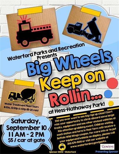 Big Wheels flyer