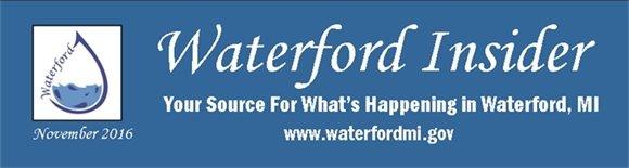 November 2016 Waterford Insider