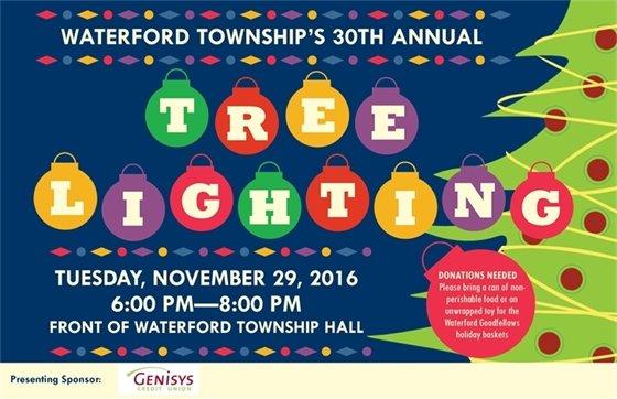 tree lighting november 29th