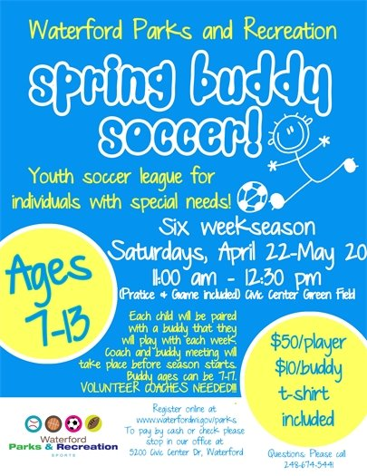 Spring Buddy Soccer