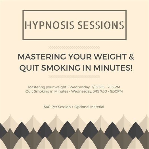 Hypnosis Sessions