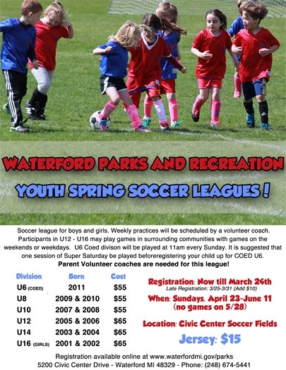 Youth Spring Soccer