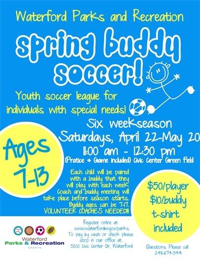Buddy Soccer 2017