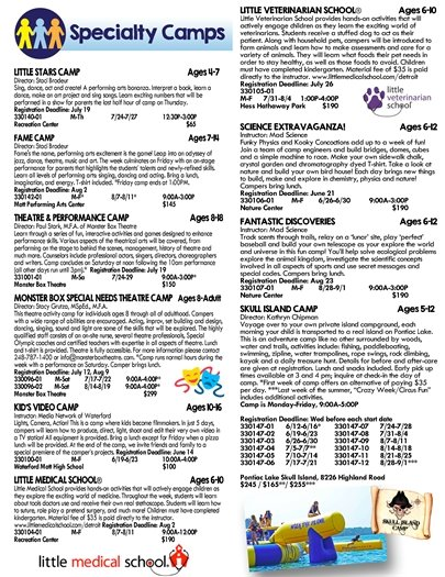 Summer Catalog Page 4