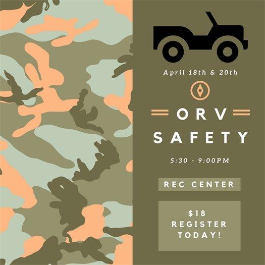 ORV Safety April 2017