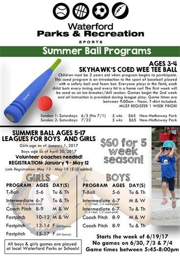 Summer Ball 2017