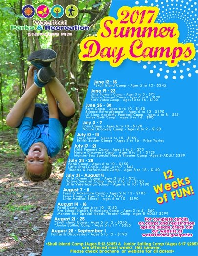 2017 Summer Day Camps