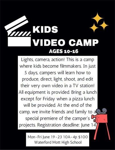 Kids Video Camp