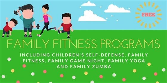 Family Fitness Ad - Fit in the Park