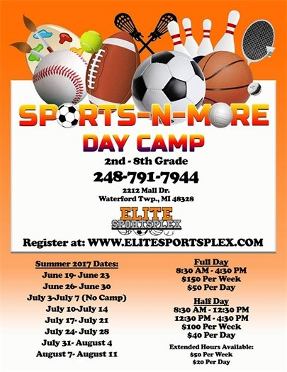 Sports-N-More Day Camp