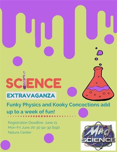 Science Extravaganza Camp