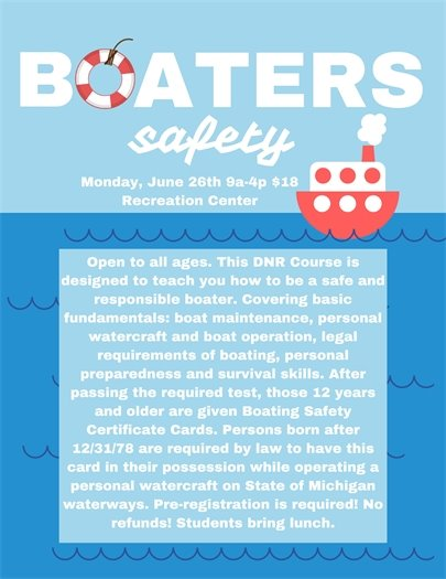 Boaters Safety Class