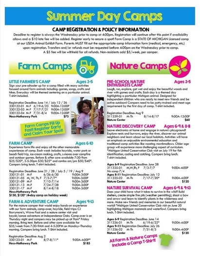 Farm & Nature Camp