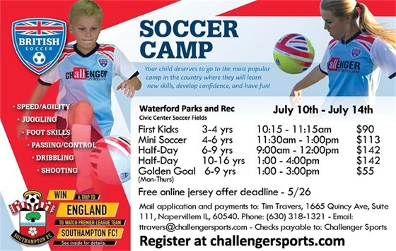 British Soccer Camp 2017