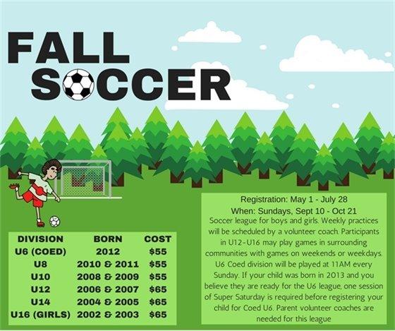 Fall Soccer 2017