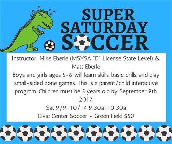 Super Saturday Soccer