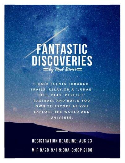 Fantastic Discoveries Camp