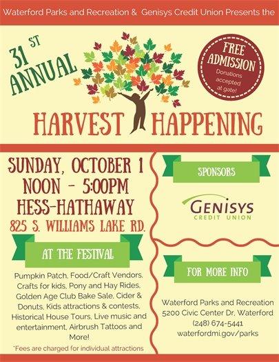 Harvest Happening 2017