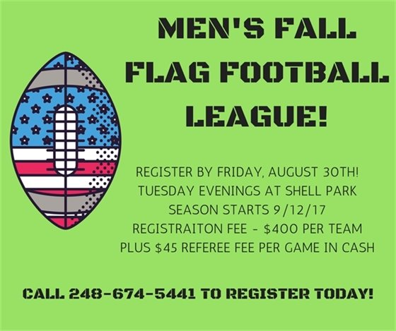 Men's Fall Football