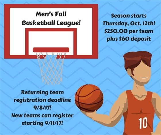 Men's Fall Basketball