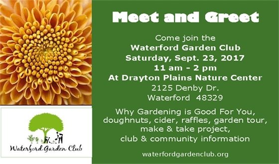 garden club meet and greet