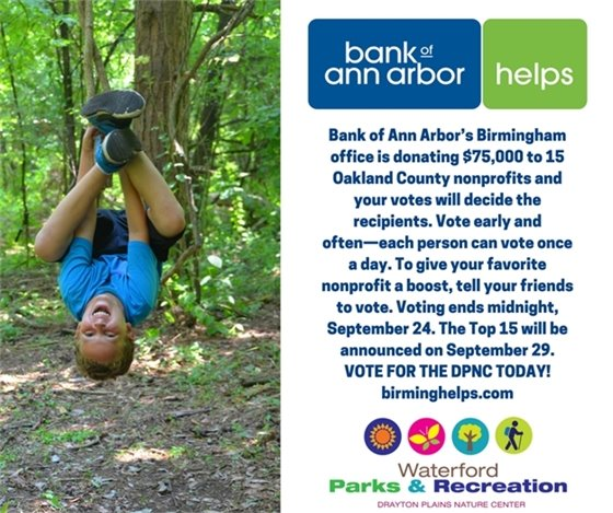 Drayton Plains Nature Center Voting