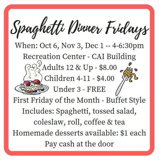 Spaghetti Dinners