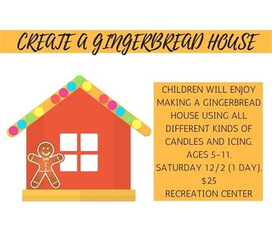 Create a Gingerbread Houe