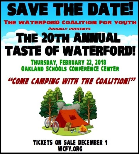 Taste of Waterford Save the Date