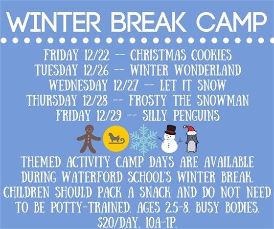 Winter Break Camp