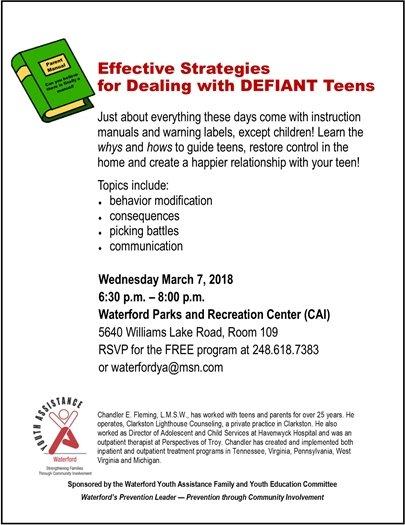 wya defiant teens