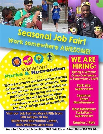 Part Time Job Fair page 1
