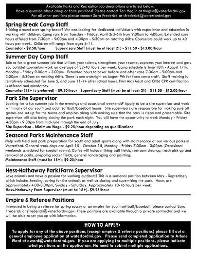 Part Time Job Fair page 2
