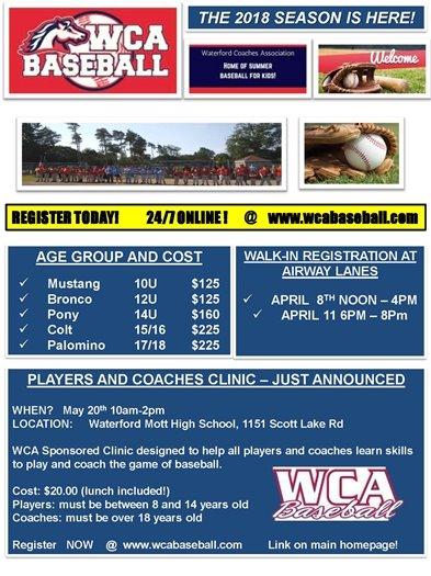 WCA Baseball