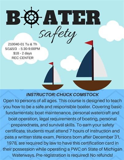Boater Safety Class