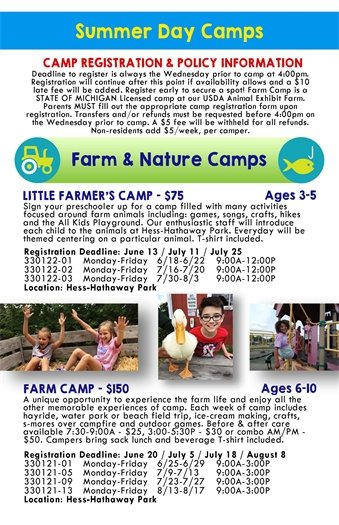 Farm & Nature Camps
