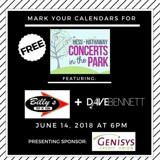 Concerts in the Park June 14