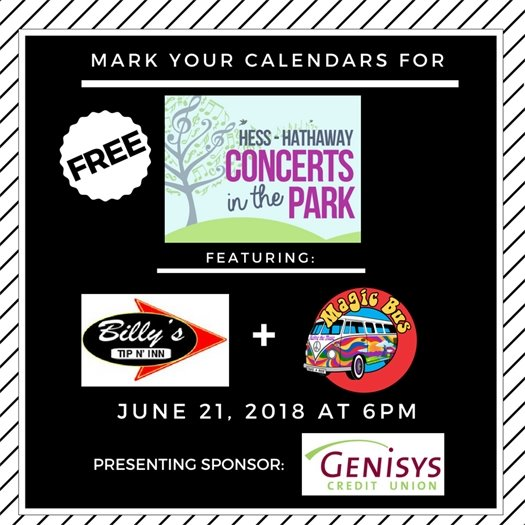 Concerts in the Park June 7
