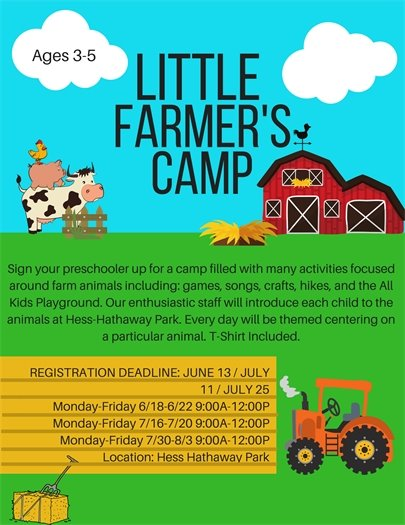 Little Farmers Camp