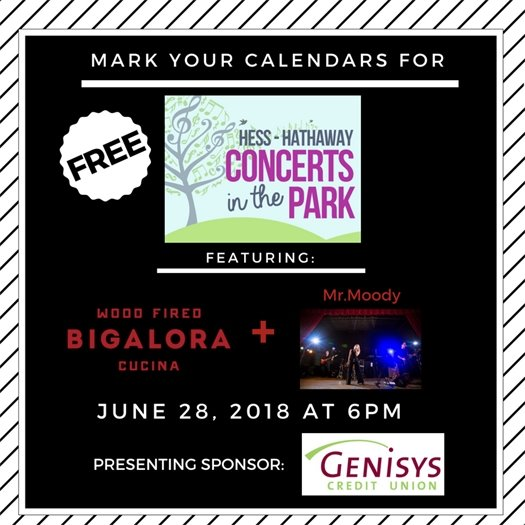 Concerts in the Park June 28