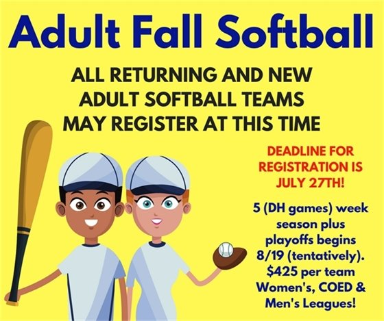 Adult Fall Softball