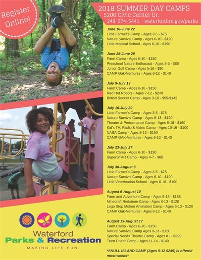 Summer Day Camp Flyer
