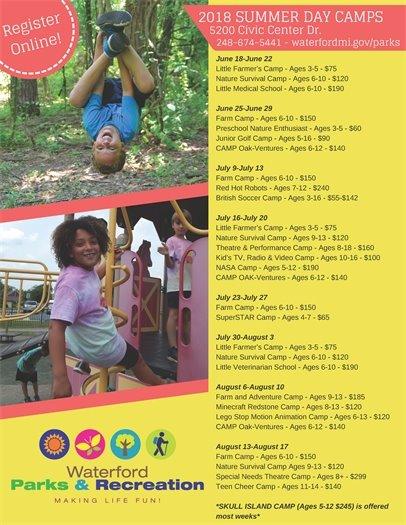 Summer Day Camp Flyer
