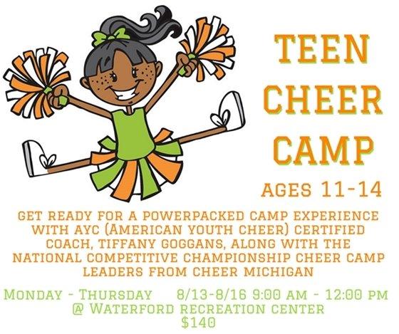 Teen Cheer Camp