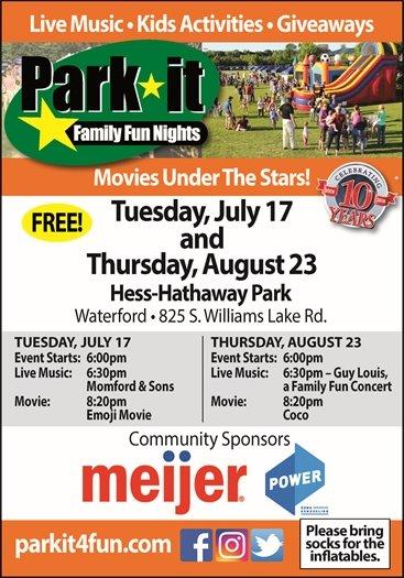 Park It August 23