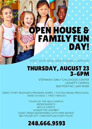 Preschool Open House WSD