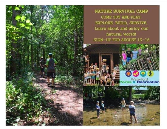 Nature Survival Camp Promo