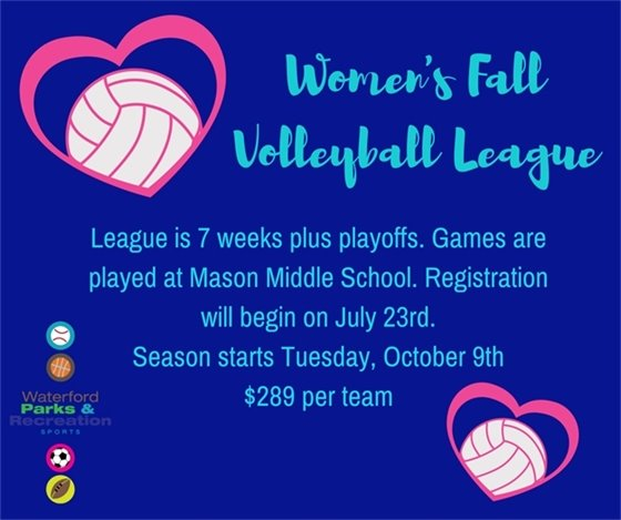 Womens Fall Volleyball
