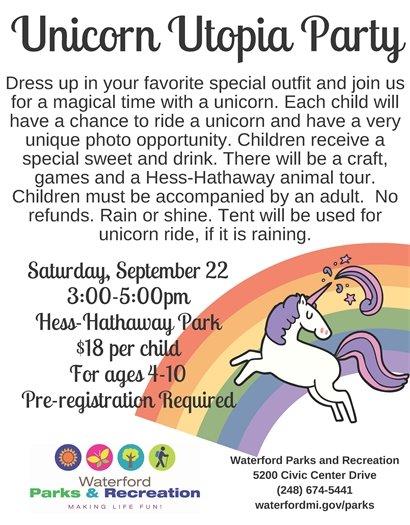 Unicorn Utopia Party